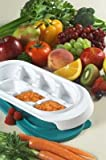 kidco baby food tray - Kidco F200 Baby Steps Freezer Trays With Lids - 2 Pack