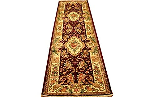 Amazon.com: 10 ft Burgundy Artificial Silk 30 x 120 in ...