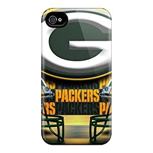 Premium [jBG6119gkUZ]green Bay Packers Case For iPhone 4 4s- Eco-friendly Packaging