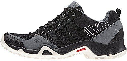 Adidas exterior Ax2 cartón / negro / marrón óxido zapatilla de deporte de 6 B (m) Solid Grey/Black/Vista Grey