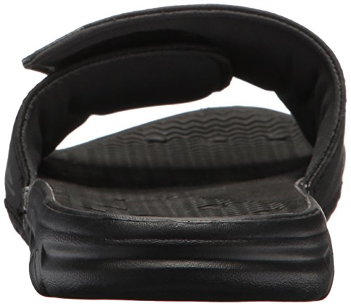 Quiksilver Black Slide Men's Black Amphibian Grey Adjust Sandal rrwOTYq