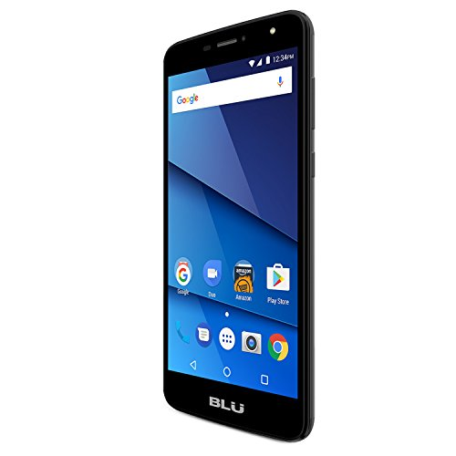 BLU Studio Mega (8GB) - 6.0'' HD Dual SIM GSM Factory Unlocked Smartphone (Black) by BLU