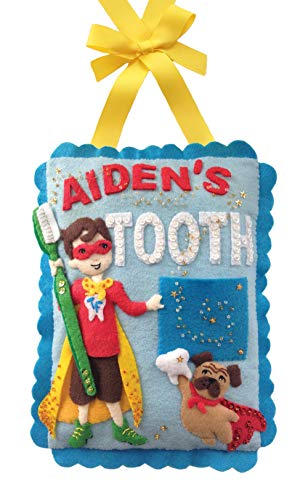 Tooth Hero Pillow Felt Applique Kit