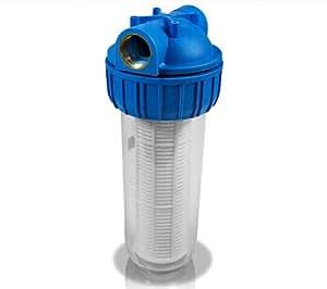 """Prefiltro aguas arenosas-Filtro para bomba de agua para jardín, 10 """"/27820 5000l/h"""