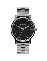 Nixon Women's Kensington A3611698 Gunmetal Stainless-Steel Quartz Watch