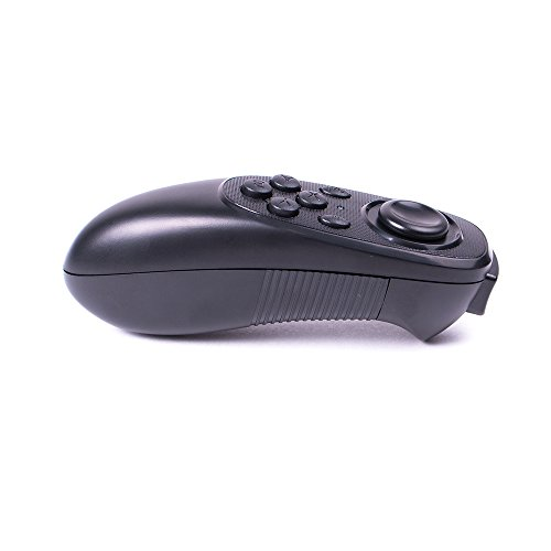 HONGYE Universal Wireless Bluetooth 3.0 Mini VR Remote & Gamepad Controller with iOS & Android Smartphones/PC for Video/Selfie/Music/Mouse/Ebook/VR Games/TV Box