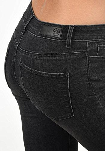 Colore xl grey Taglia Vero Elastico Jeans Pantaloni rise Donna Mid Diamant L32 Moda Da Denim 6ZPO6