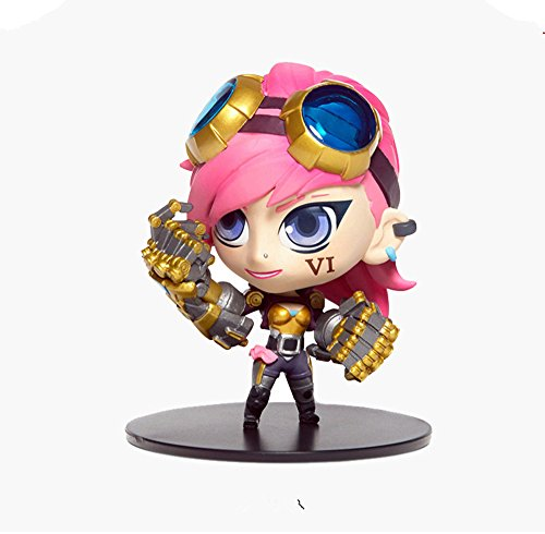 Newbee - League of Legends LOL The Piltover Enforcer VI small model toy figure for LOL fans