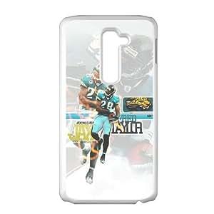 Jacksonville Jaguars LG G2 Cell Phone Case White persent zhm004_8635341
