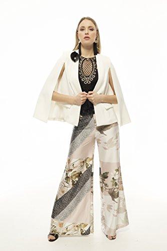 Hera Ecru Americana Elegante De All'anca Cerimonia Lunga Lulú El Stile Armario Tono nbsp;fino TI4p7w