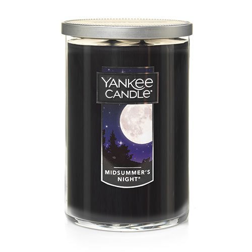 Wick Candle 2 (Yankee Candle Large 2-Wick Tumbler Candle, MidSummer's Night)
