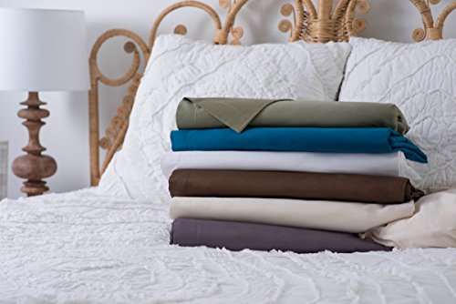 - Magnolia Organics Dream Collection Duvet Set - Twin, White