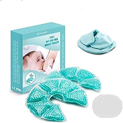 Amazon.com: Lactating - Almohadilla de gel de mama para ...