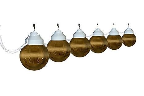 Amazon.com: lighting- 8 globo Color Blanco Cadena luces ...