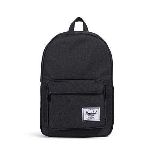 Herschel Pop Quiz Backpack, Crosshatch/Black Rubber, One Size