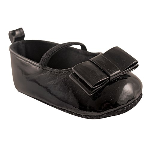 luvable-friends-girls-patent-leather-bow-ballet-flat-black-0-6-months-m-us-infant