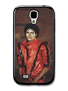 AMAF ? Accessories Michael Jackson Red Suit Thriller King of Pop case for Samsung Galaxy S4 WANGJING JINDA