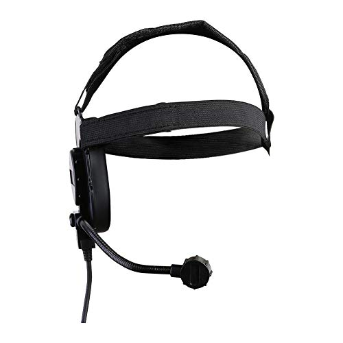 Vipeco Outdoor Hunting Headset III CS Headphone Headband for Walkie Talkie (Black) from Vipeco