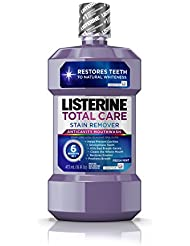 Listerine Total Care Whitening Mouthwash, 6 Benefit...
