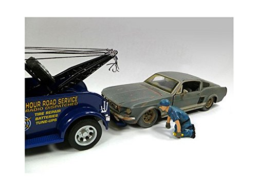 American Diorama 23905 Tow Truck Driver Operator Scott Figure for 1-24 Scale Diecast Car Models