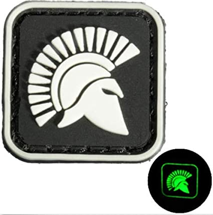 Amazon com: 2pcs Molon Labe Spartan Military PVC Patch