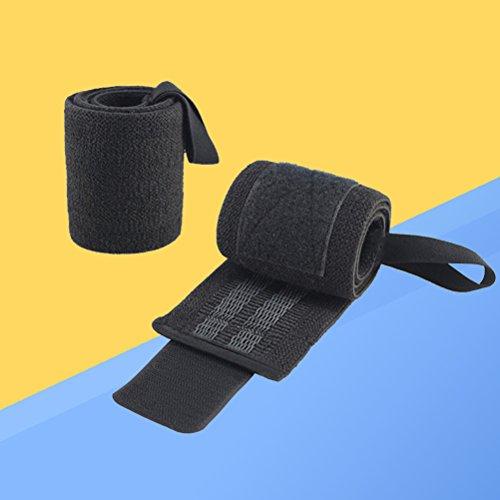 VORCOOL スポーツ用ハンドリストバンドウエイトリフティング弾性手首用スウェットバンドサポート
