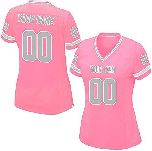 QimeiJer - Camiseta de fútbol para Mujer, réplica de Malla, Color ...