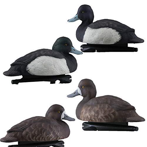 Avian-X Foam Filled Blue Bills Duck Decoys - Water Decoys Keel Duck