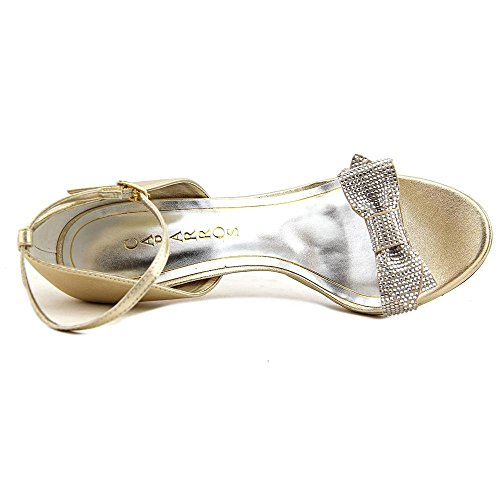 Caparros Zolina Women US 7.5 Gold Sandals UoW4kpv8