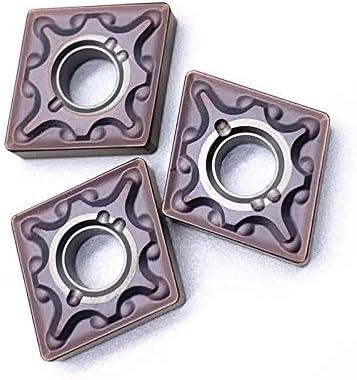 10pcs CNMG120408 VP15TF / UE6020 / US735 Externe Drehwerkzeugdrehwerk Fräsen Drehen Werkzeugbearbeitung Stahlteile (Größe : CNMG120408 VP15TF)
