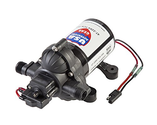 ProGear 3200 RV Replacement Water Pump | Shurflo 4008 Revolution Direct Replacement| 3 GPM | Whisper Quiet Operation | Self-Priming | Approved for Potable Water Use