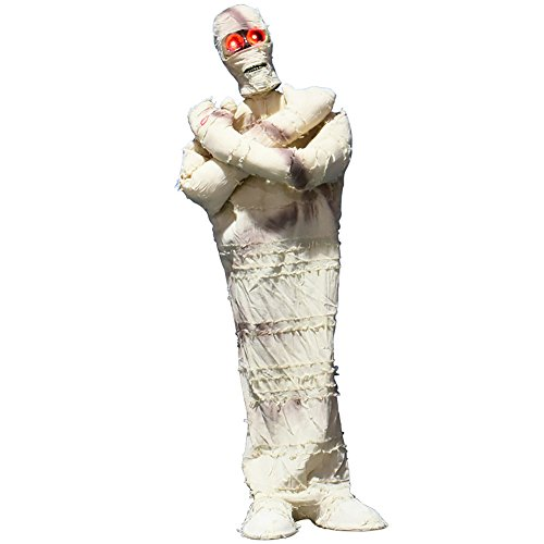 YHOOEE Halloween Decoration Mummy Party Haunted House Bar Horror Skull Tricks Props -