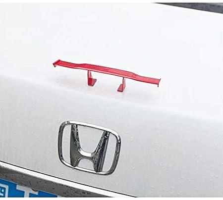 itimo Auto Mini Schwanz Spoiler Fl/ügel ohne Perforation Fahrzeug Stabilit/ät Schwanz Dekoration Carbon Universal