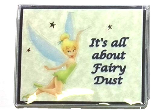 (RFID Protected Tinker Bell Debit Card Holder with Debit Register & Photo Insert)