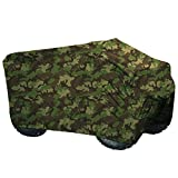 PrimeShield Heavy Duty Waterproof Windproof ATV Cover, Extra Large(94 Inches x48 Inches x48 Inches), Camouflage Print