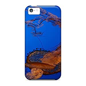 Diy iphone 5 5s case iPhone 5 5S Case, Premium Protective Case With Awesome Look - Lt Jellyfish