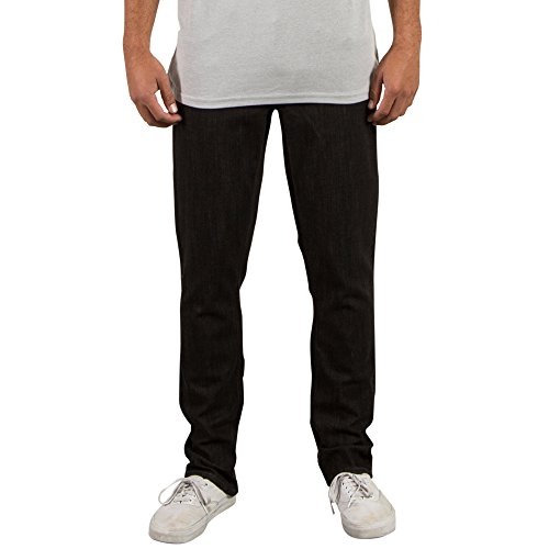 Volcom Black Zip Jean - 7