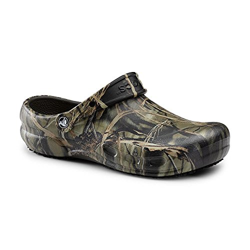 Crocs SureGrip Unisex - Adult Bistro Realtree® Camo Slip Resistant Work Clogs 7M