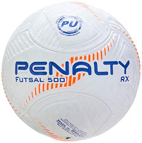 Bola Futsal Rx Fusion Viii Penalty 64 Cm Laranja
