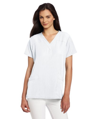 WonderWink Womens Stretch Sporty V Neck