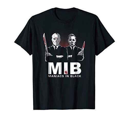 Maniacs In-Black T-Shirt squad halloween