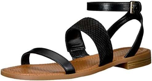Nine West Women's Xenosa Synthetic Gladiator Sandal