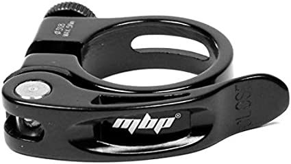 MTB Road Bike Bicycle Seatpost Clamp Quick Release Seat Post Clamps 31.8mm