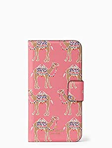 Kate Spade New York Camel Party Folio Case for iPhone 8 & iPhone 7