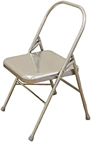 Backless Folding Yoga Chair - Great Prop for A Variety of Different Poses