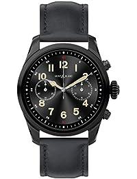 Summit 2 Smartwatch 119438 Black Steel Black Calfskin Strap. MONTBLANC