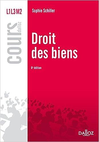 Livre gratuits Droit des biens - 6e éd. pdf ebook