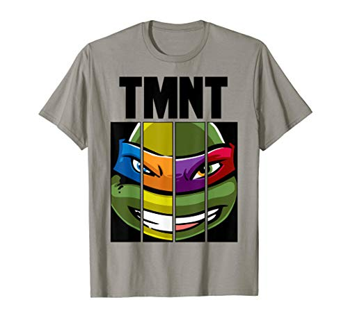 Teenage Mutant Ninja Turtles Face Mash Up T-Shirt -