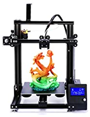 The configuration of ADIMLab Gantry-S 3d printer:◆Printing technology: FDM◆Colour: Black ◆Printing platform: Aluminum base heated bed with High Adhesion Building Platform◆Printing Color: Single color one time. ◆Extruder: Metal MK8.◆Display: 1...