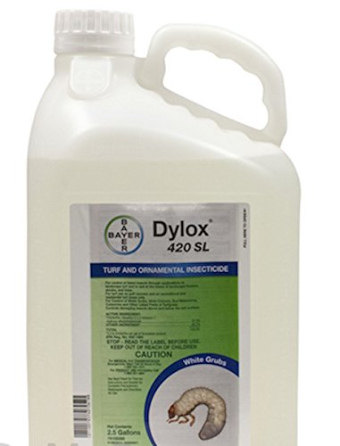 Dylox 420 Sl Insecticide 2.5 Gls Trichlorfon 37.3% Controls Grubs Weevils & More''